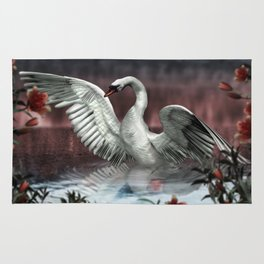 Landing Swan Rug