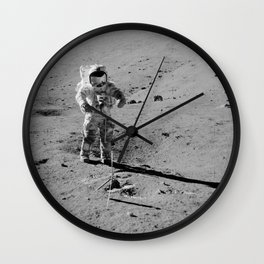Apollo 17 - Commander Gene Cernan Wall Clock