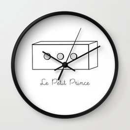 The Little Prince, box Wall Clock