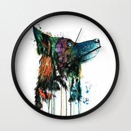 Husky - Anticipation Wall Clock
