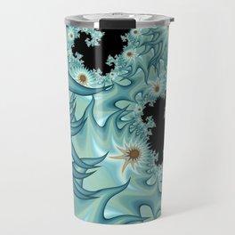 Sea Anemone Fractal Travel Mug