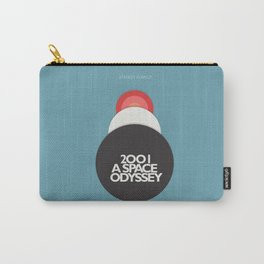 2001 a Space Odyssey - Stanley Kubrick, minimal movie poster, rétro film playbill, sci-fi Carry-All Pouch