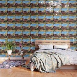 East and West Paden Twin Bridge Wallpaper