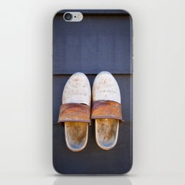 Typical dutch clogs iPhone Skin