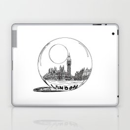 London in a glass ball . (https://society6.com/vickonskey/collection ) Laptop & iPad Skin