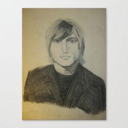 John Rzeznik Pencil Sketch  Canvas Print