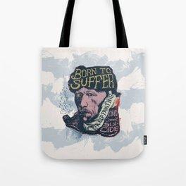 Van Gogh Typography Drawing Tote Bag