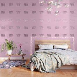 Start where you are - Arthur Ashe - pink print Wallpaper