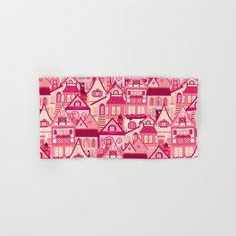 Pink Little Town Hand & Bath Towel