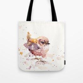 Fluffy Le Wren Tote Bag
