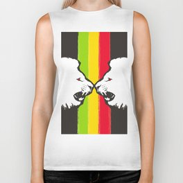 Rasta Lions (The Kingdom) Biker Tank