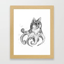 Foxtapus Framed Art Print