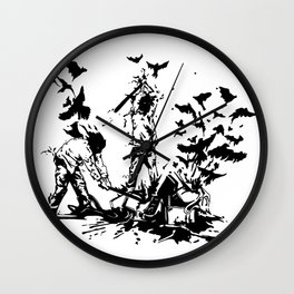 Famous also Fade Wall Clock