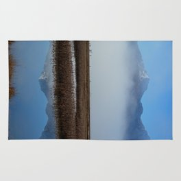 Autumn Mist Reflection Rug