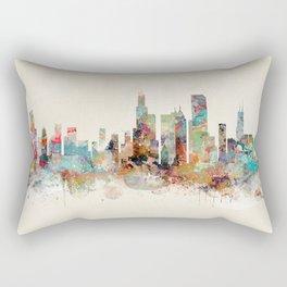chicago illinois skyline Rectangular Pillow