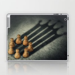 the pawns crown Laptop & iPad Skin