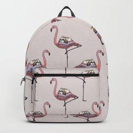 Flamingo and Shih Tzu Backpack