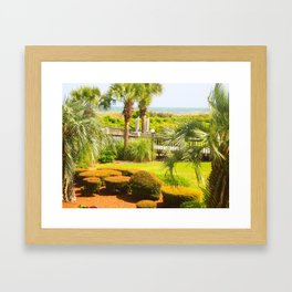 Beachy Keen Framed Art Print