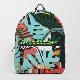 Sunset in the jungle Backpack