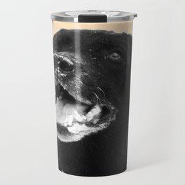 Labrador Happy Travel Mug