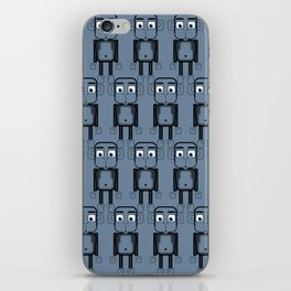 Super cute animals - Cheeky Blue Monkey iPhone Skin