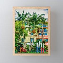 Delray Framed Mini Art Print