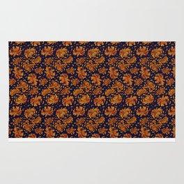 Korean Chrysanthemum - Orange Rug