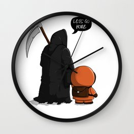 Let's go home Wall Clock