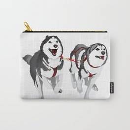 THE HUSKIES Carry-All Pouch