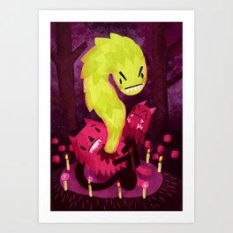 Cute and Gruesome Art Print