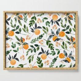 Orange Grove Serving Tray