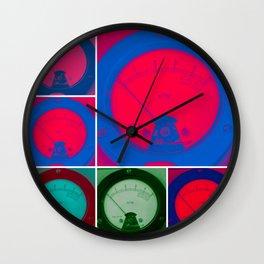 Radmeters in Parade Wall Clock