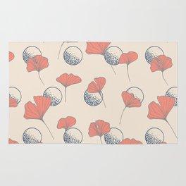 Delicate Ginkgo&Dots #society6 #decor #buyart Rug