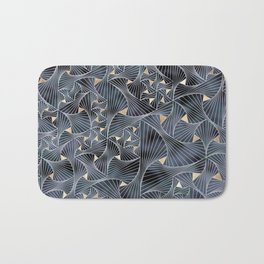 Reverie (in Grey and Gold) Bath Mat