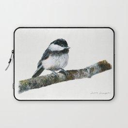 Black-capped Chickadee by Teresa Thompson Laptop Sleeve