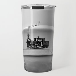 Worker On Tower Travel Mug