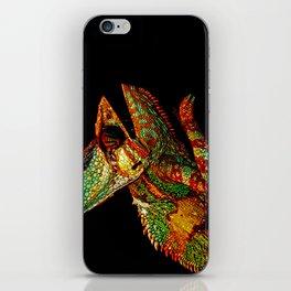 KARMA CHAMELEON iPhone Skin