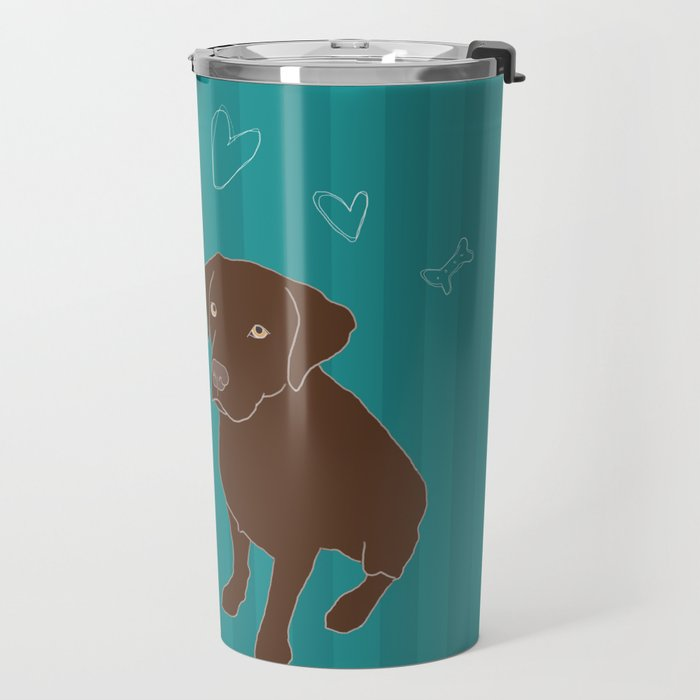 Retriever ChocoBlack Travel Mug