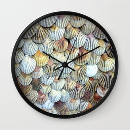 Cockleshell Collection Wall Clock