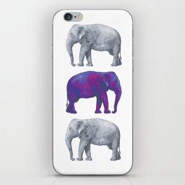 Elephants II iPhone Skin