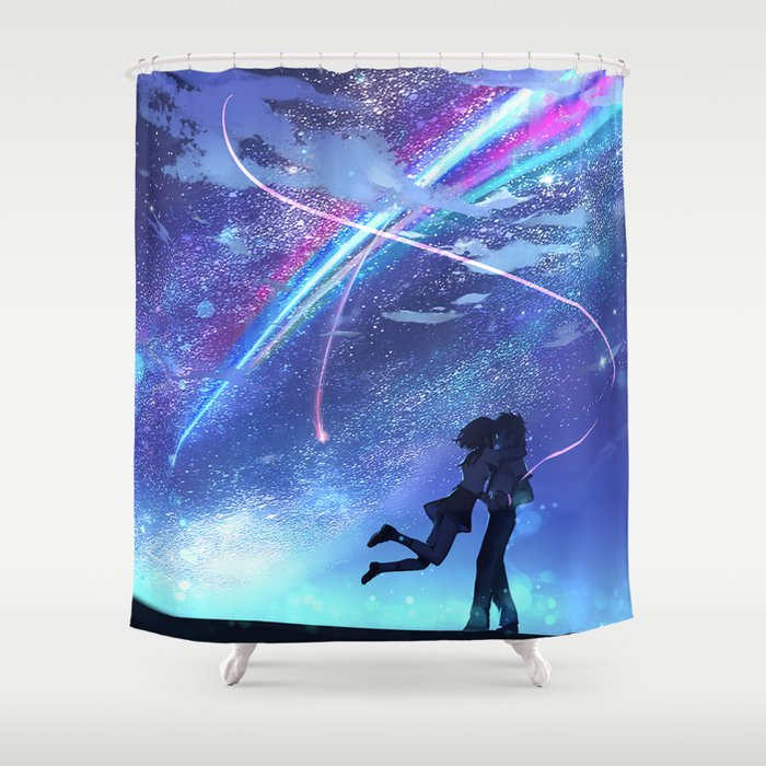 Your Name. Shower Curtain