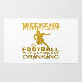WEEKEND FORECAST FOOTBALL Rug