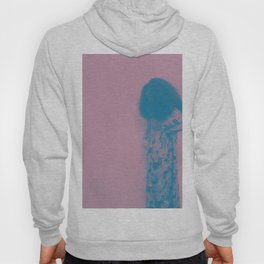 Afro Retro Moments Mauve & Teal Hoody
