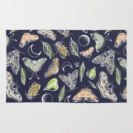 Moths to the Moon Rug