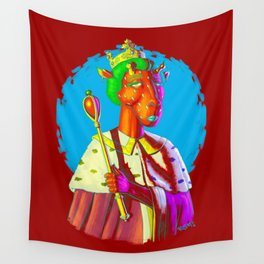 Queen Of What? Wall Tapestry