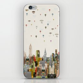the great wondrous balloon race iPhone Skin