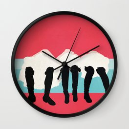 Anatevka Wall Clock