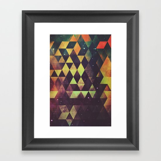 yrgyle nyyt Framed Art Print