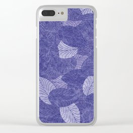 Let the Leaves Fall #07 Clear iPhone Case