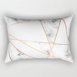 Marble Geometry 054 Rectangular Pillow